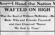 McKinley Assassination record